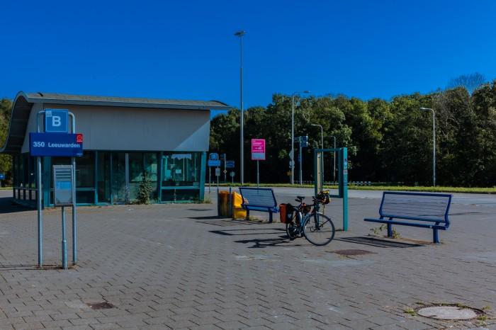 Busbahnhof in Den Oever